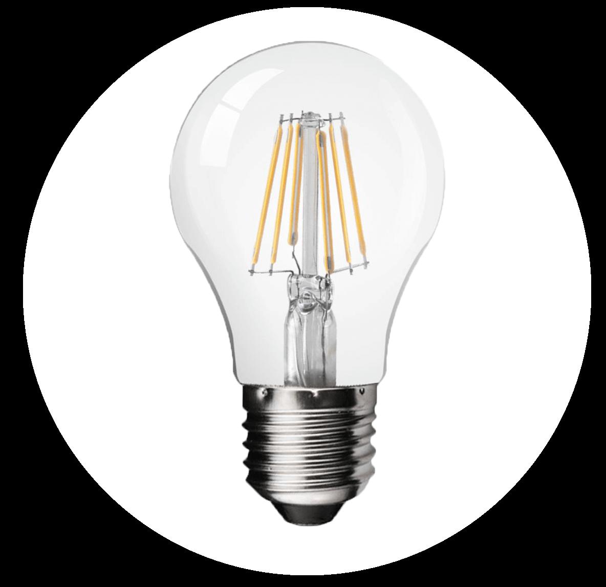 žárovka E27 filament