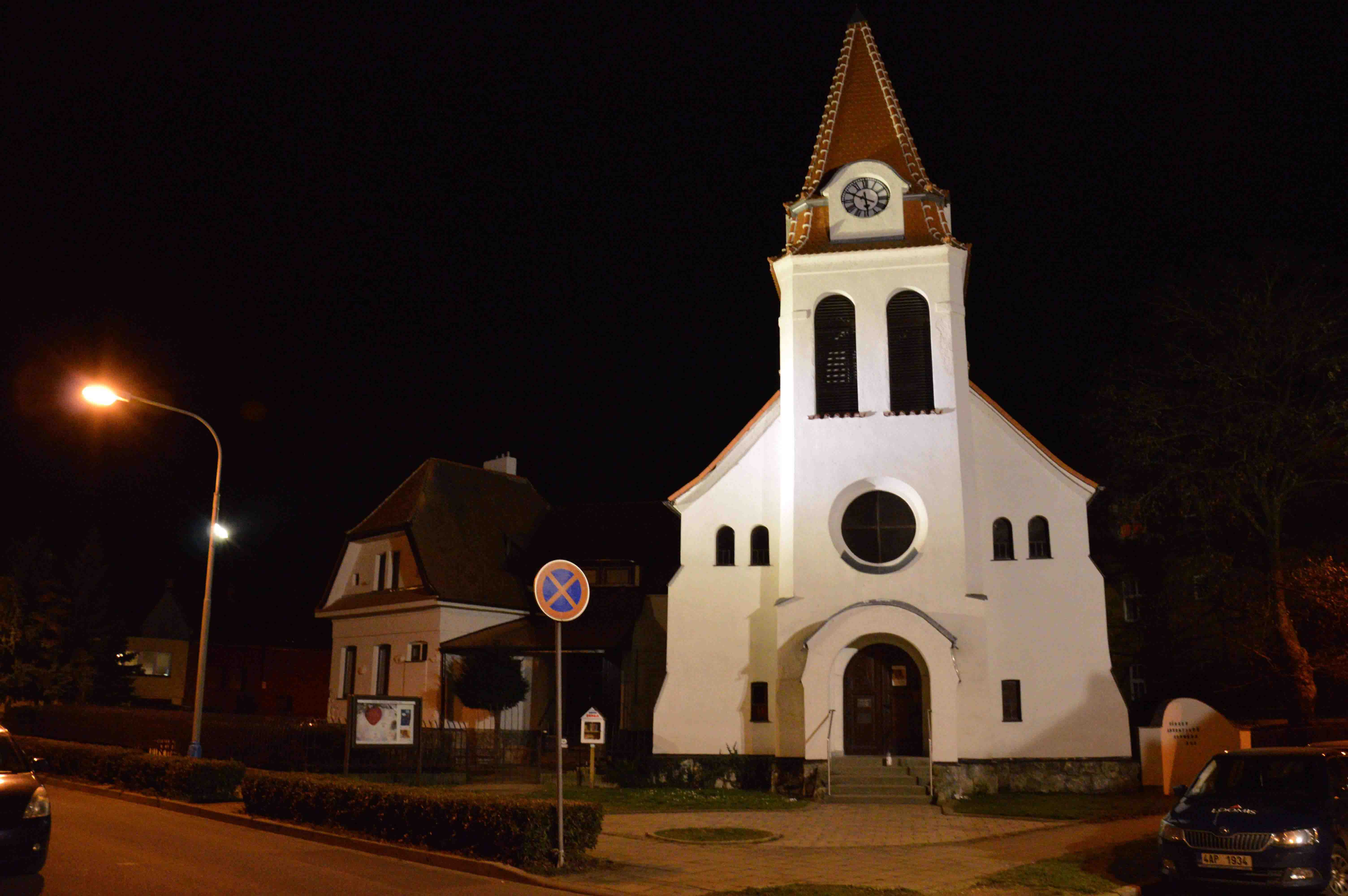 reference - kostel Břeclav