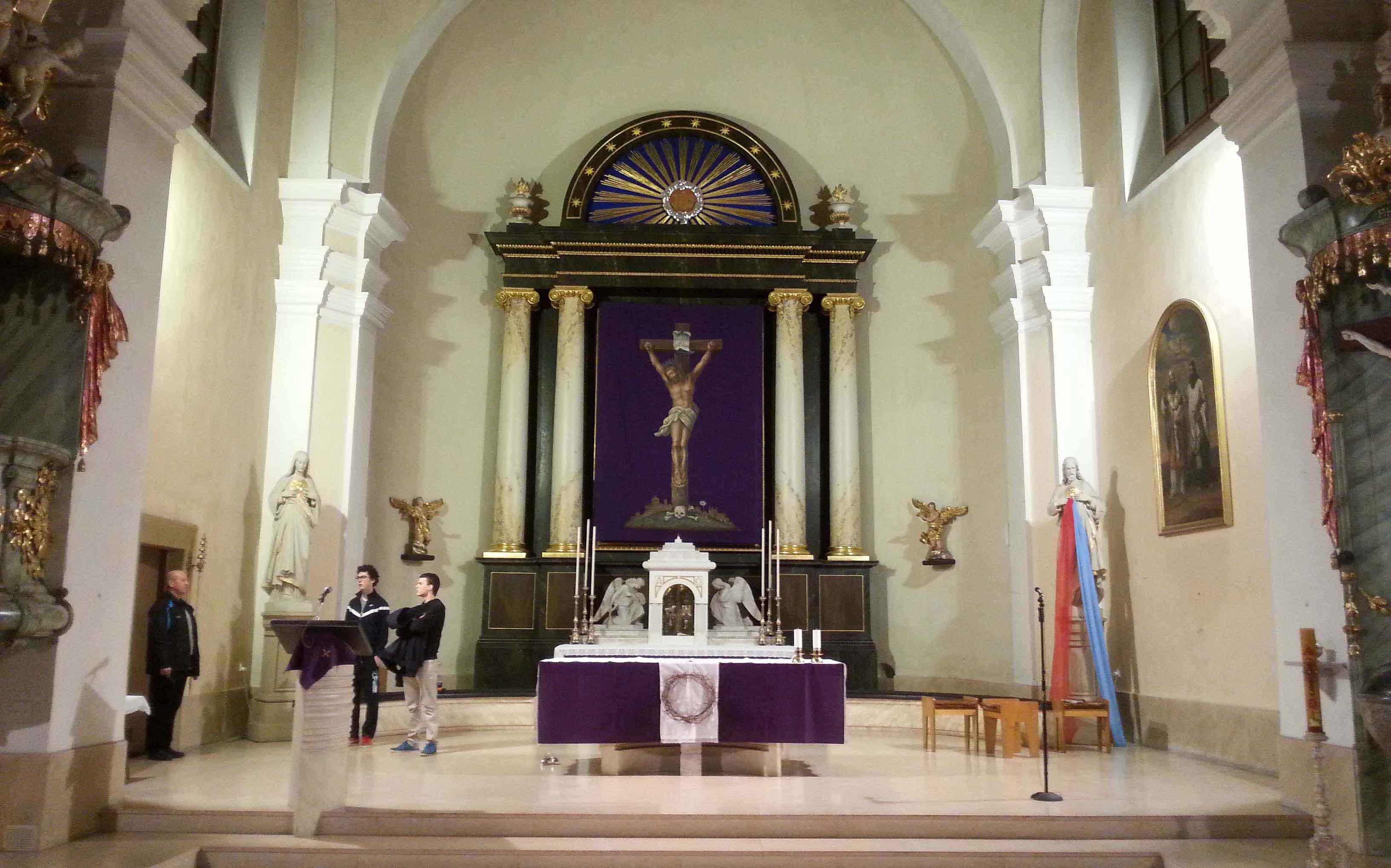 reference - kostel Hodonín