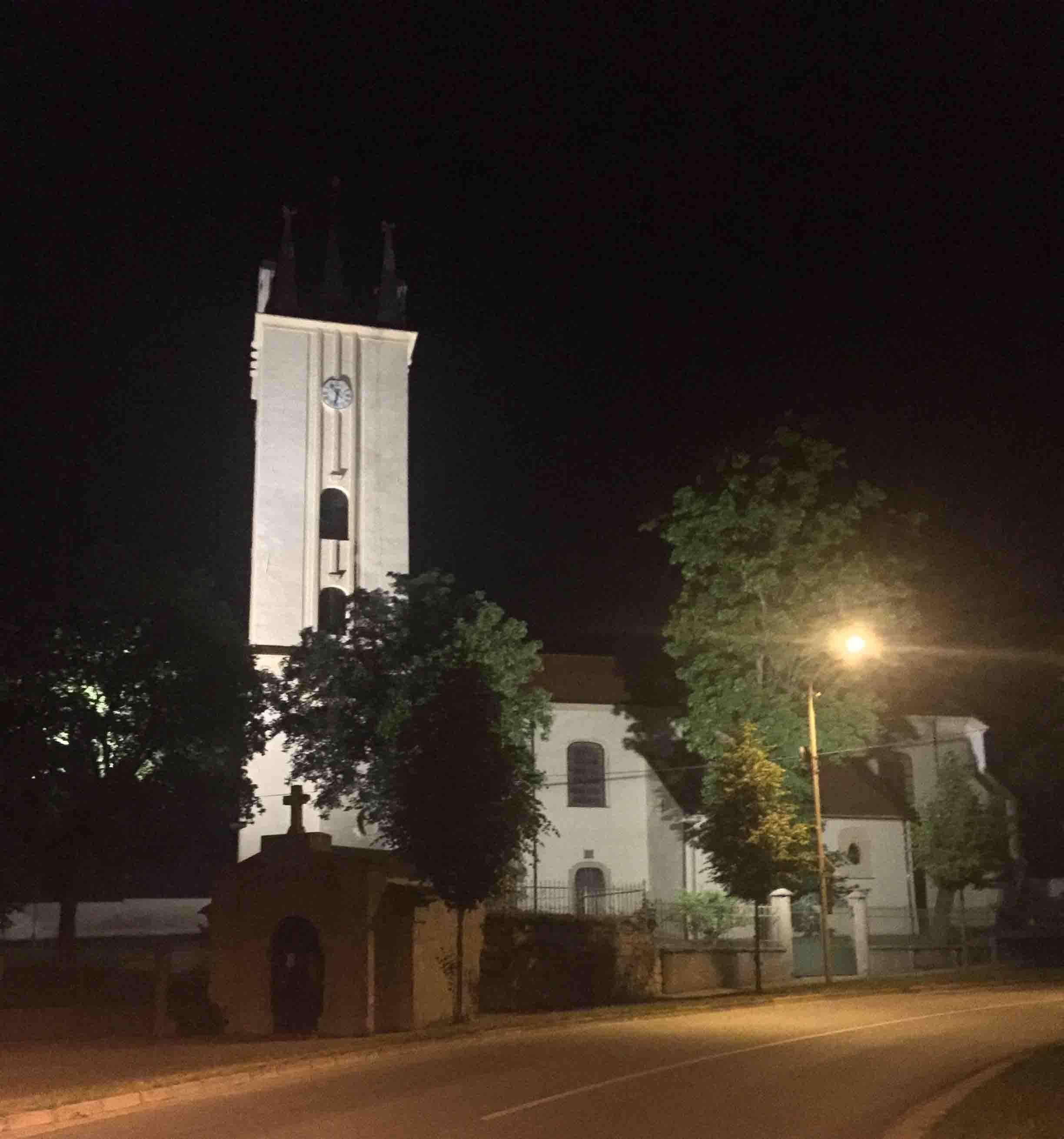 reference - kostel Podivín