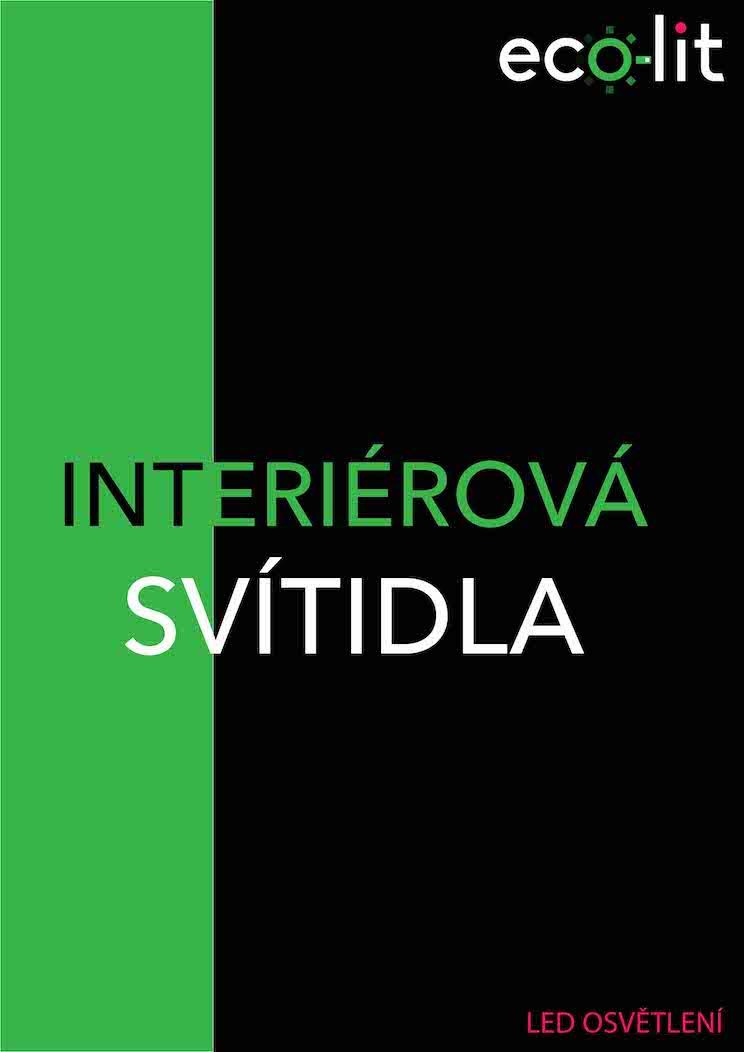 Katalog interiérová svítidla ecolit CZE